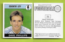 Coventry City Dave Phillips Wales 56